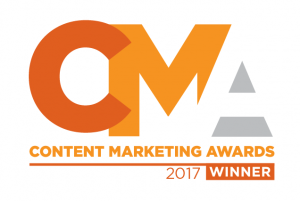 Content Marketing Award 2017 Winner