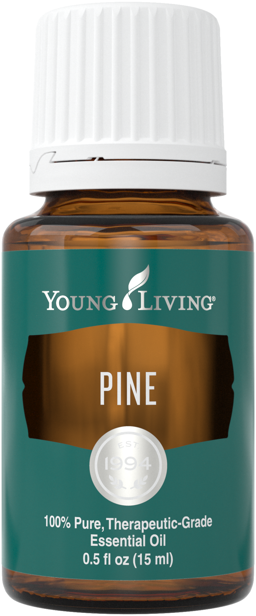 Bottle of Pine Essential Oil