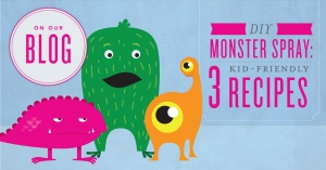 DIY monster spray 3 kid friendly recipes
