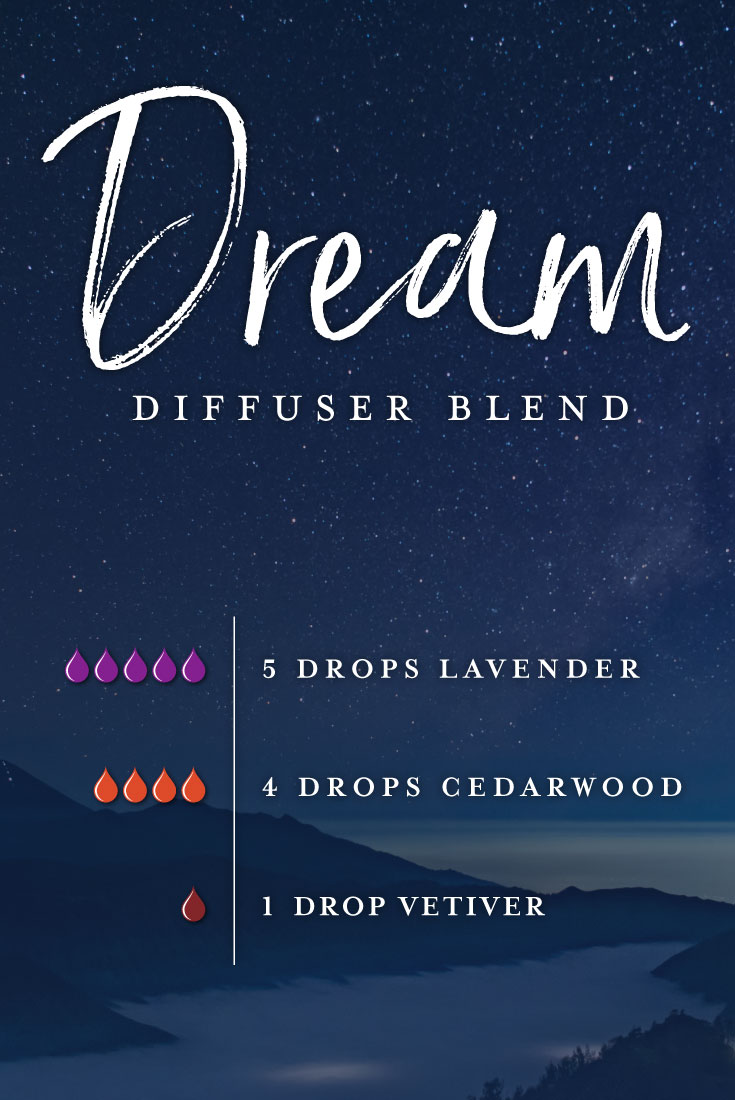 Dream essential oil diffuser blend