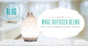 Quiz: What essential oil diffuser blend do you need right now?