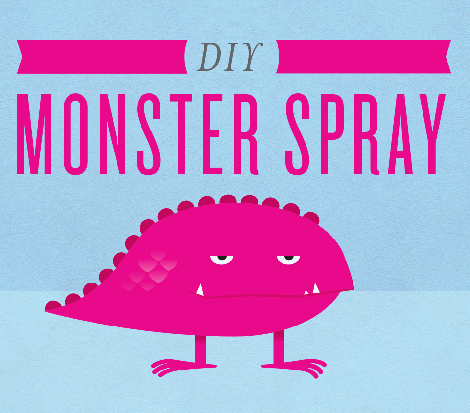 DIY Monster Spray Label