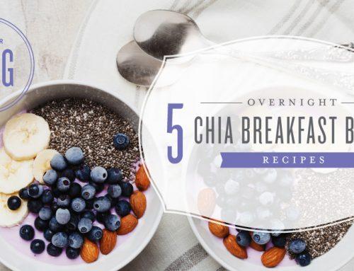 5 overnight chia breakfast bowl recipes