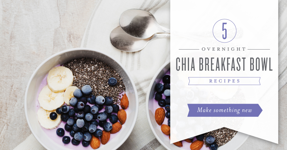 Best overnight chia bowl recipe with essential oils