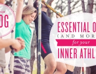 Essential oil for athletes, post-workout boosts, essential oils for the gym, essential oils for topical muscle relief