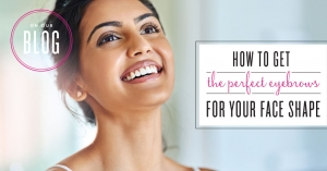 How To Get The Perfect Eyebrows For Your Face Shape Infographic
