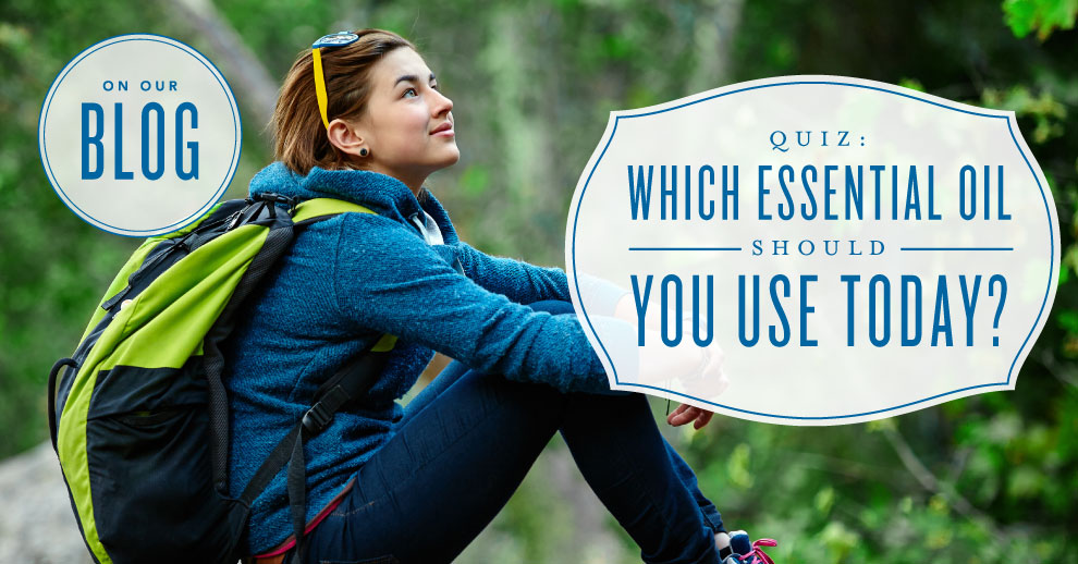 Quiz: What essential oil could you use right now?
