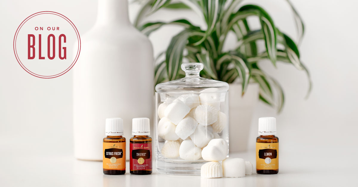 Diy Cleaning Fizzies With Thieves Young Living Blog