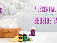 7 essential oils for your bedside table