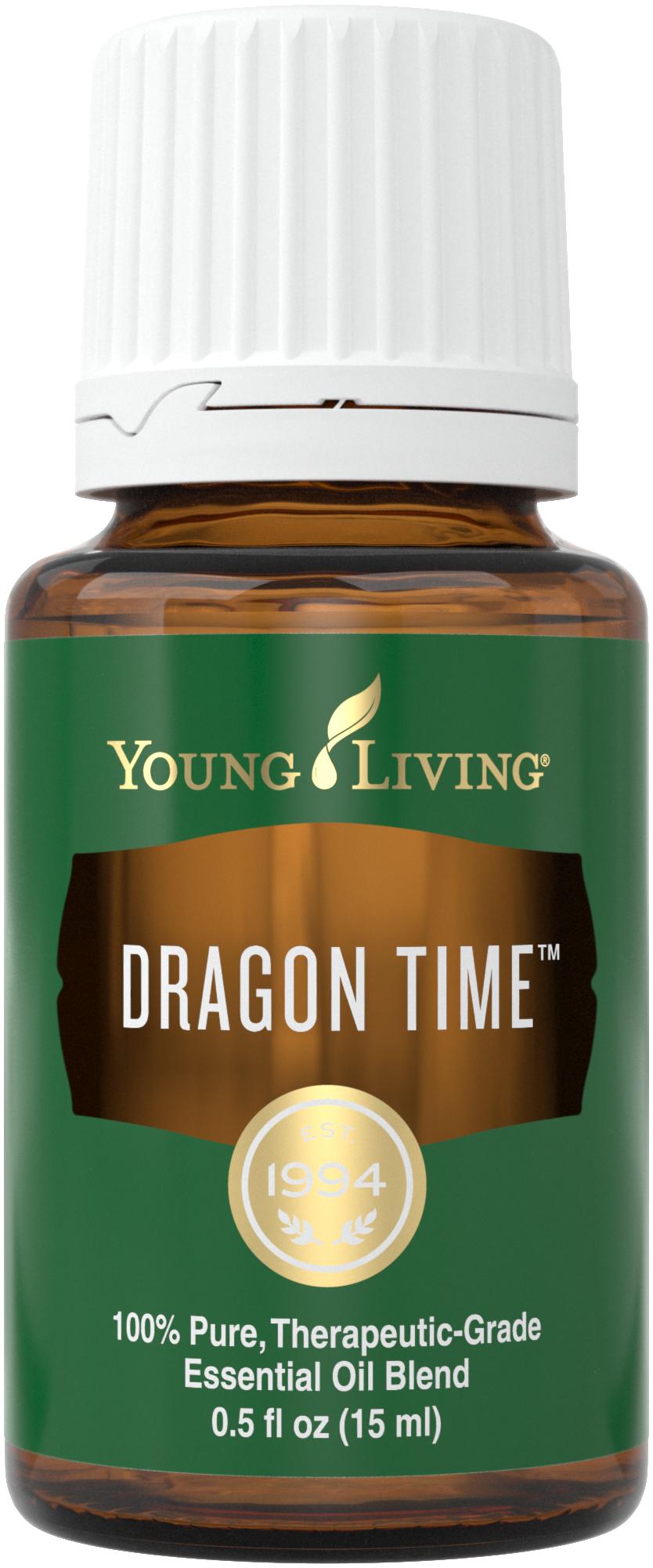 Uso de la mezcla de aceites esenciales de Dragon Time | Vida joven