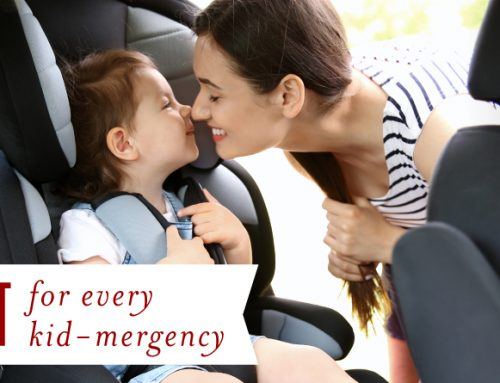 Dr. Mom™: Car kit for every kid-mergency