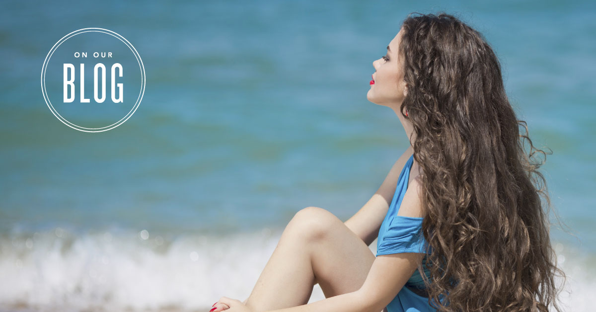 Essential oils for healthy-looking and shiny hair | Young Living