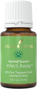 Infect Away essential oils for pets