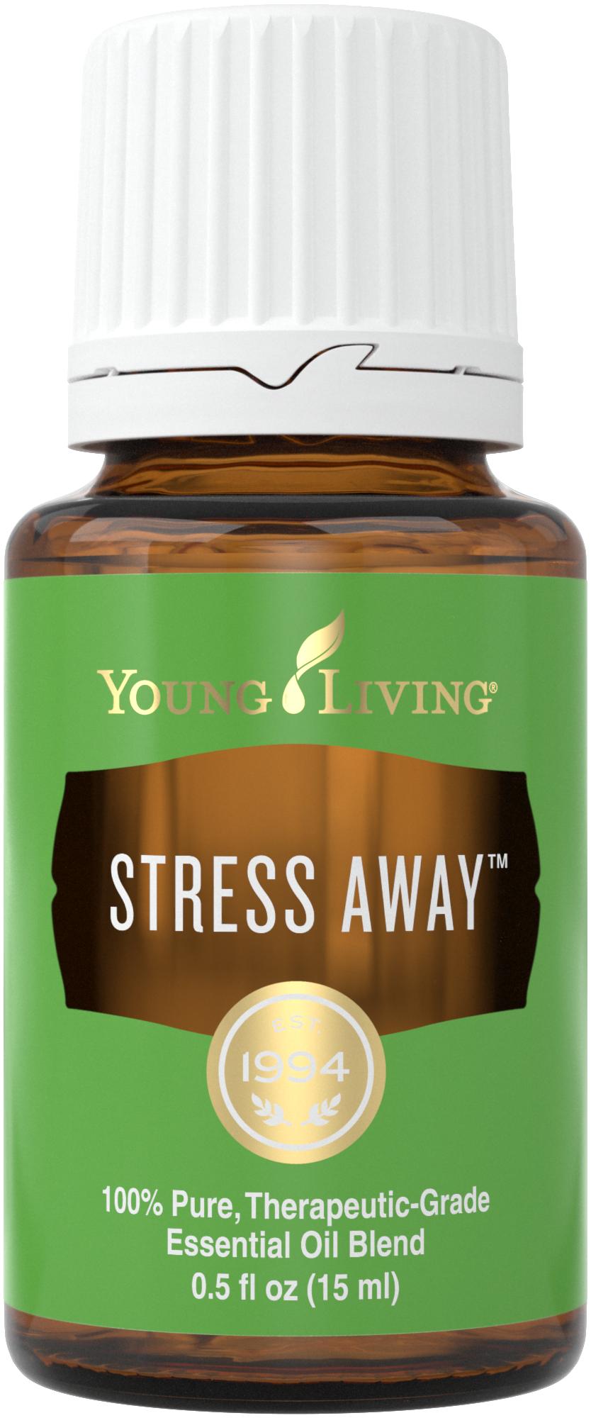 Mezcla de aceites esenciales Stress Away | Vida joven