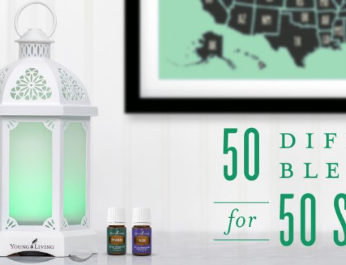 50 diffuser blends for 50 states