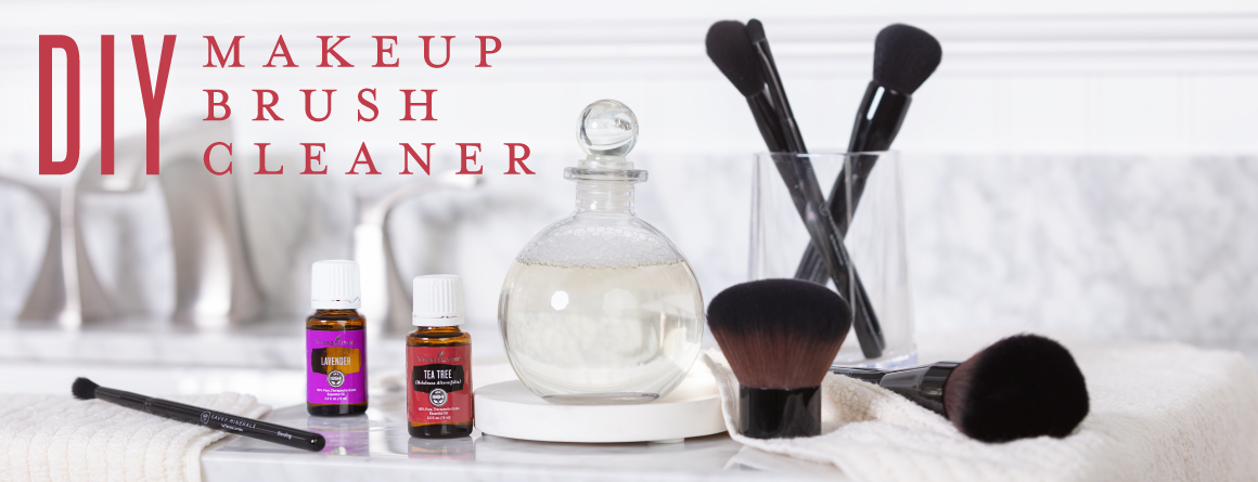 DIY makeup brush cleaner