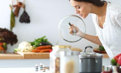 Condimenta tus comidas con aceites esenciales