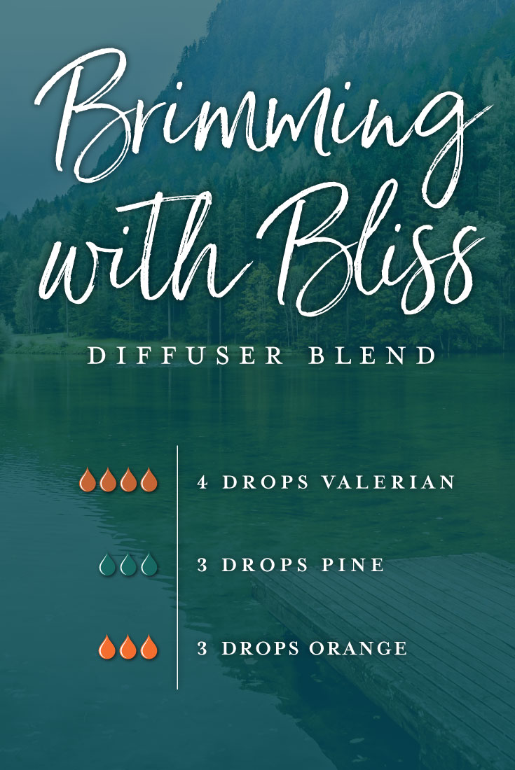 Brimming with bliss essential oil diffuser blend