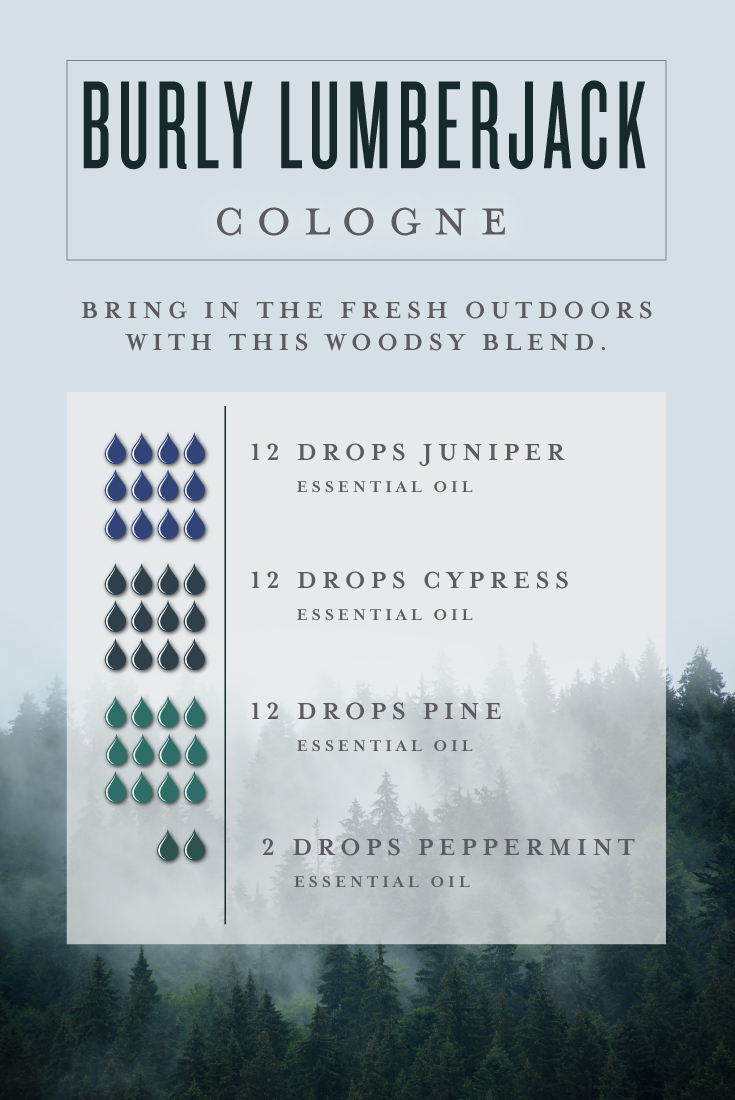 Diy Men S Cologne Young Living Essential Oils