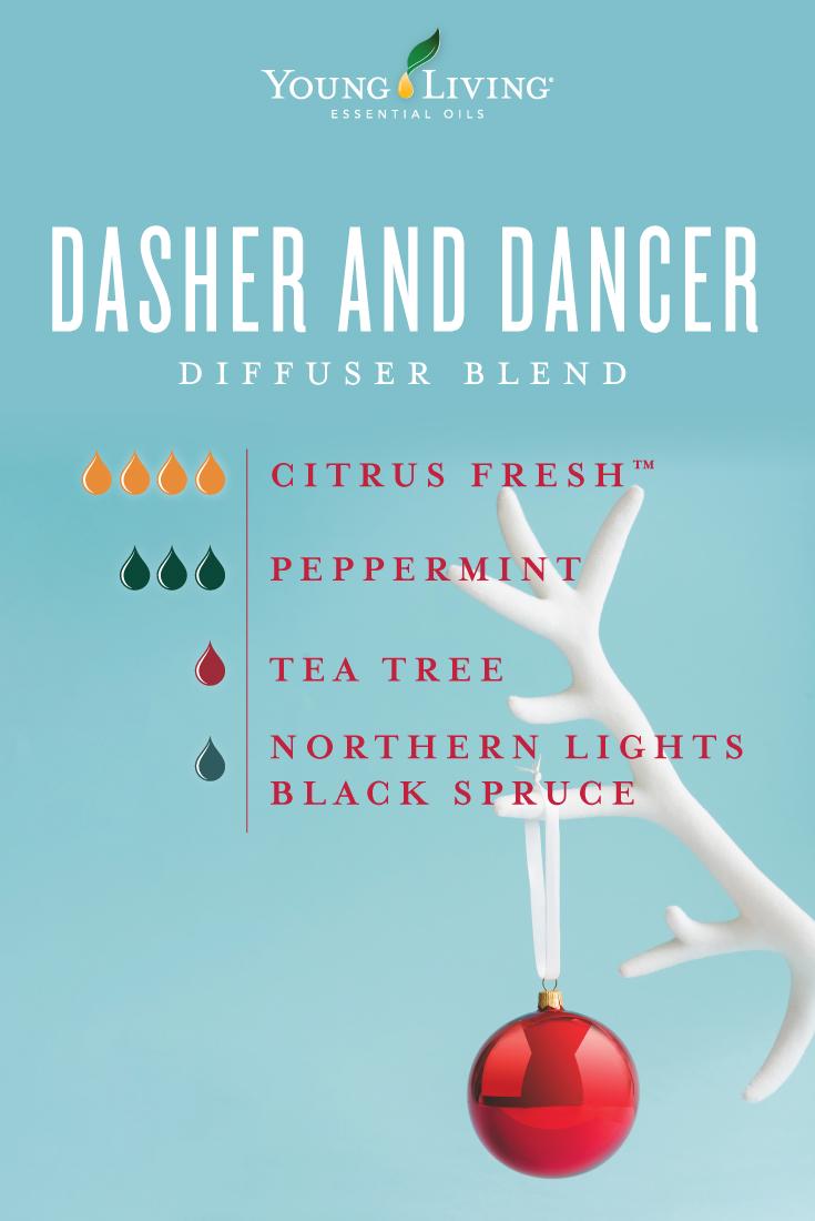 Dasher and Dancer diffuser blend