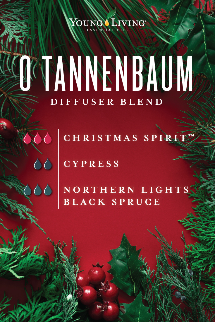 Young Living Christmas Tree.Christmas Diffuser Blends Young Living Essential Oils