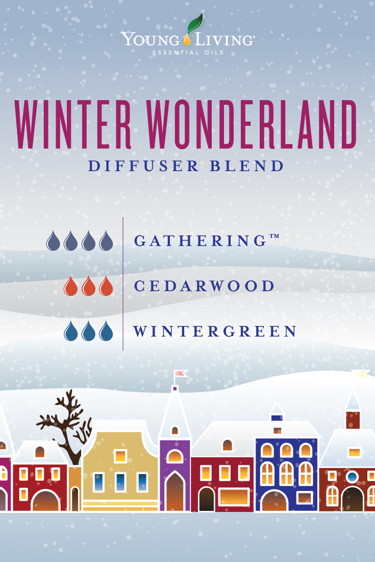 Winter Wonderland diffuser blend