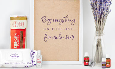 Buy everything on this list for under $125