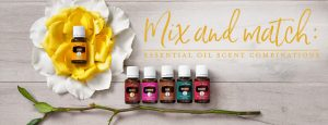 Mix and match--essential oil scent combinations