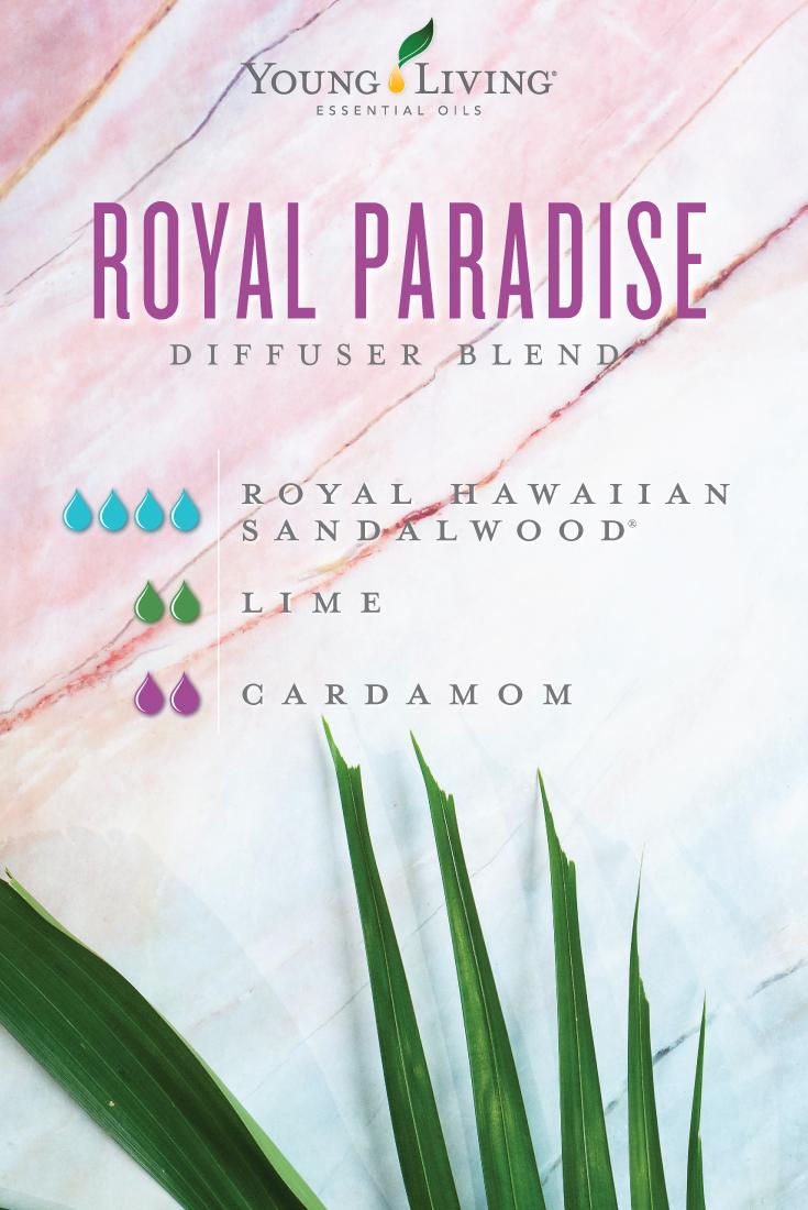 Royal Paradise diffuser blend