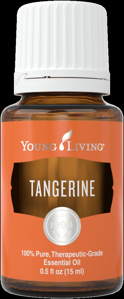 Aceite esencial de mandarina.