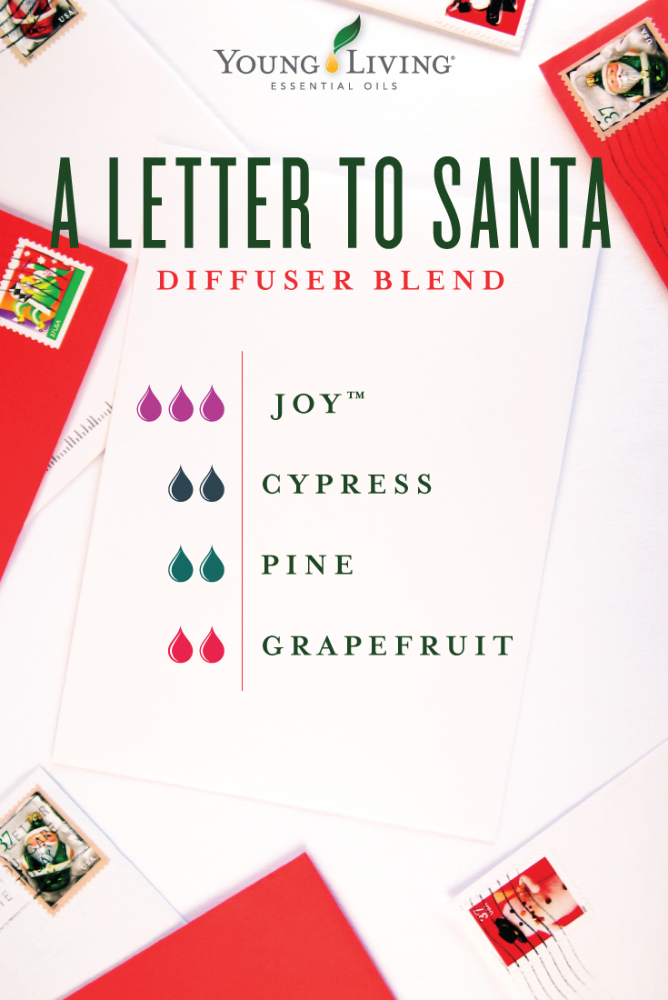 A letter to santa diffuser blend