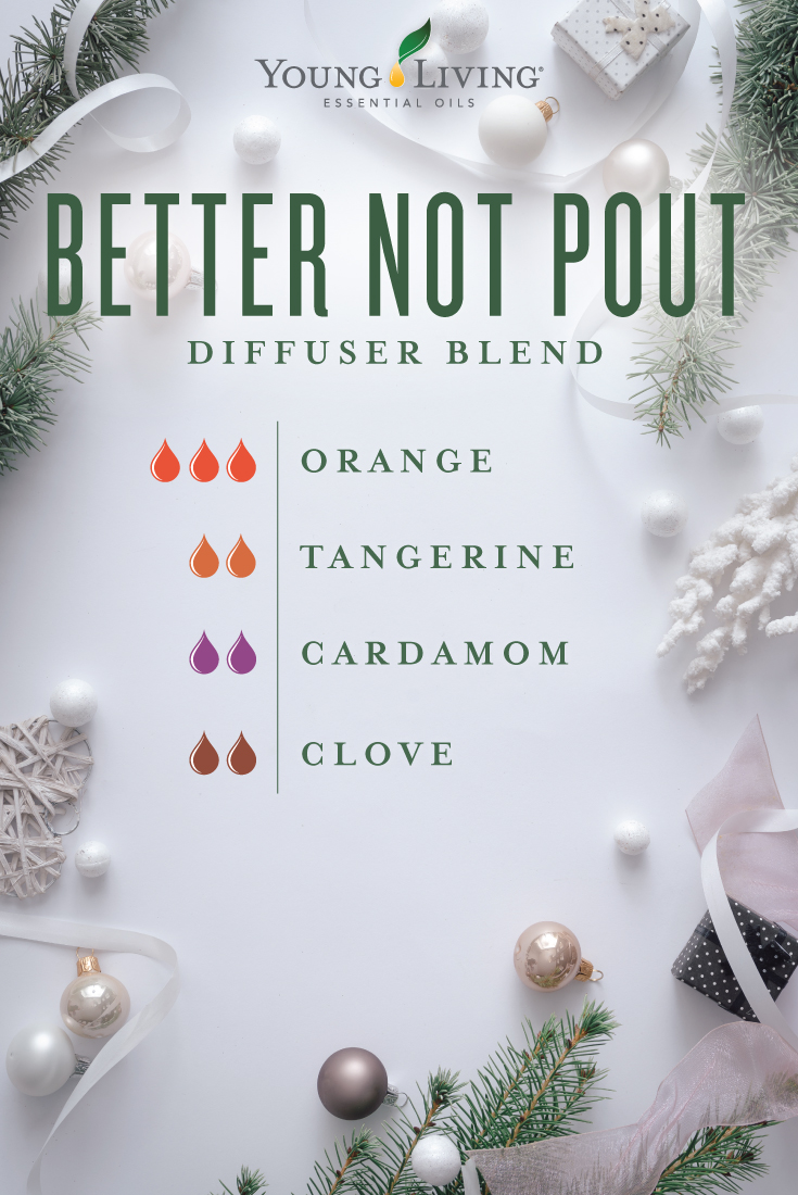 Better not pout diffuser blend