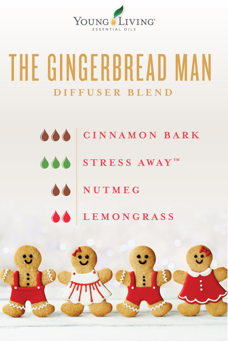 The Gingerbread Man diffuser blend