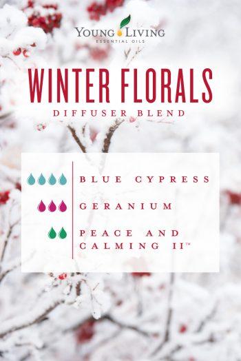 Winter Florals diffuser blend