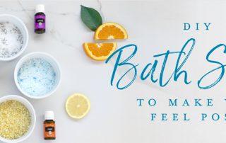 DIY bath salts to make you feel posh