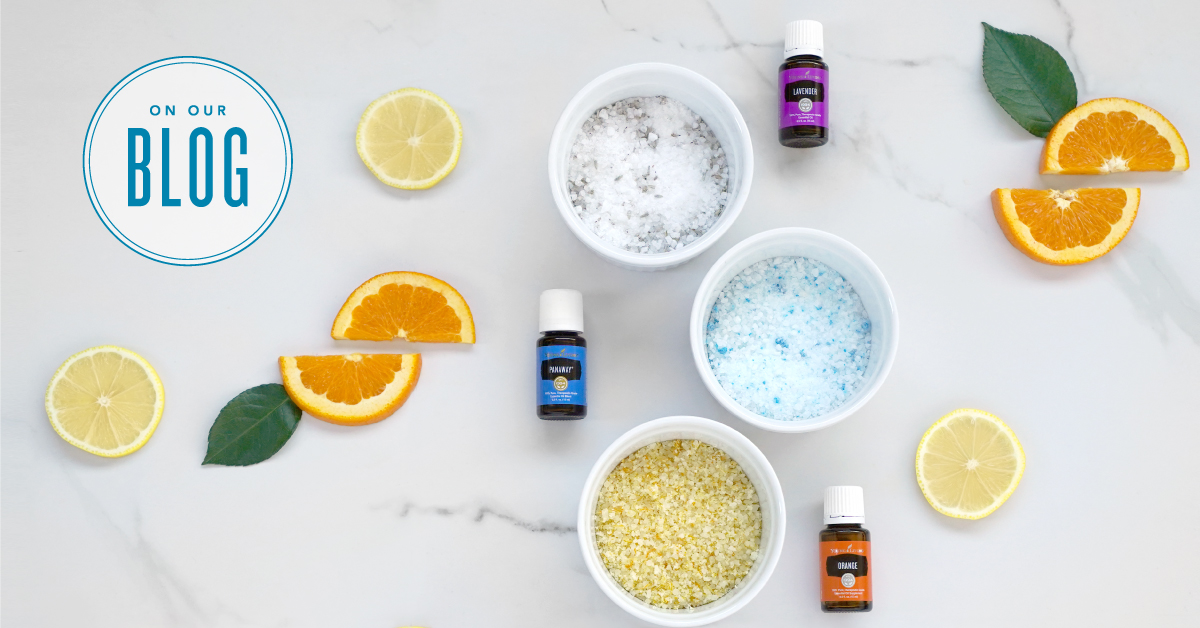Diy Bath Salts Infused With Essential Oils Young Living Blog