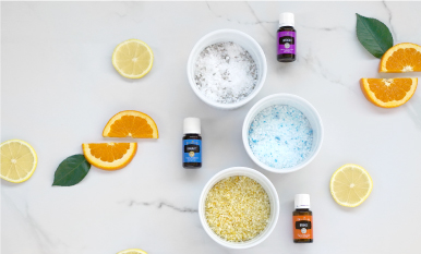 DIY bath salts to make you feel posh