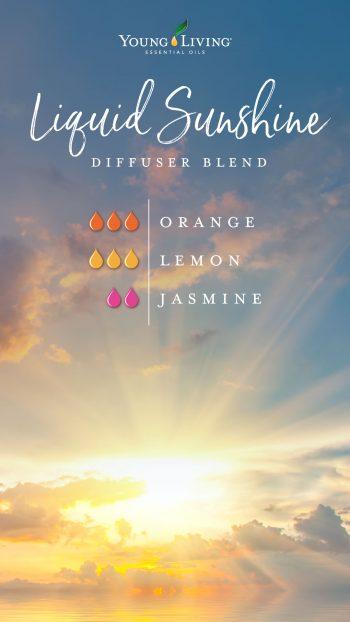 Liquid Sunshine diffuser blend