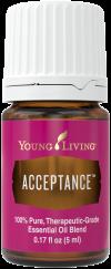 Acceptance essential oil