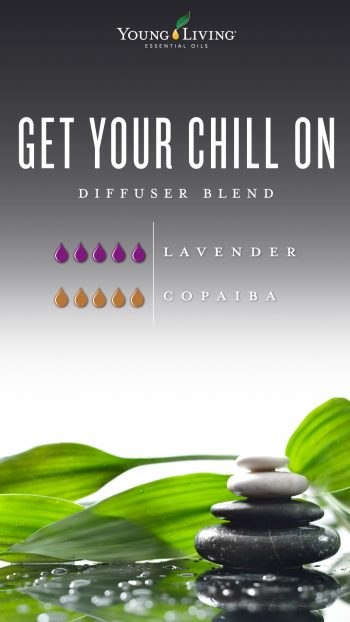 Get your chill on diffuser blend