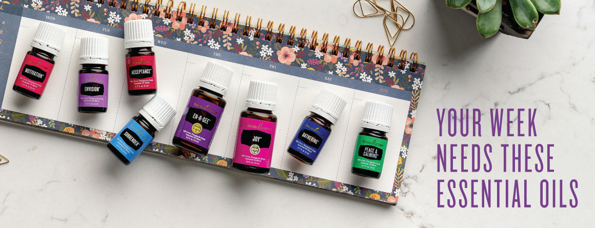 Your week needs these essential oils
