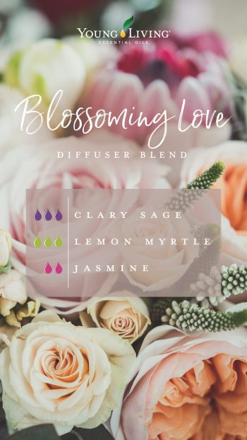 Blossoming Love diffuser blend