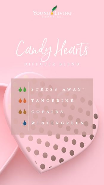 Candy Hearts diffuser blend