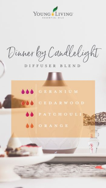 Romance in the air diffuser blend