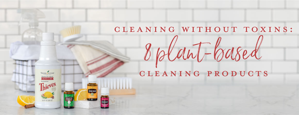 Cleaning without toxins: 8 plant-based cleaning products