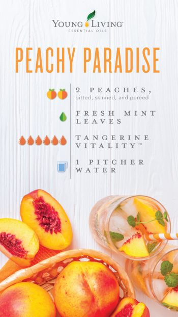 Peachy Paradise hydration blend