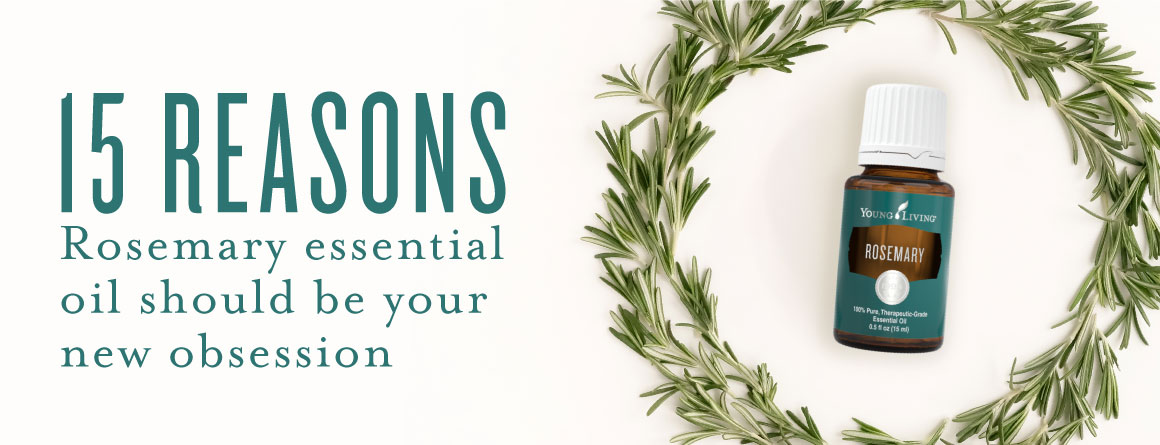15 reasons Rosemary essential oil should be your new obsession