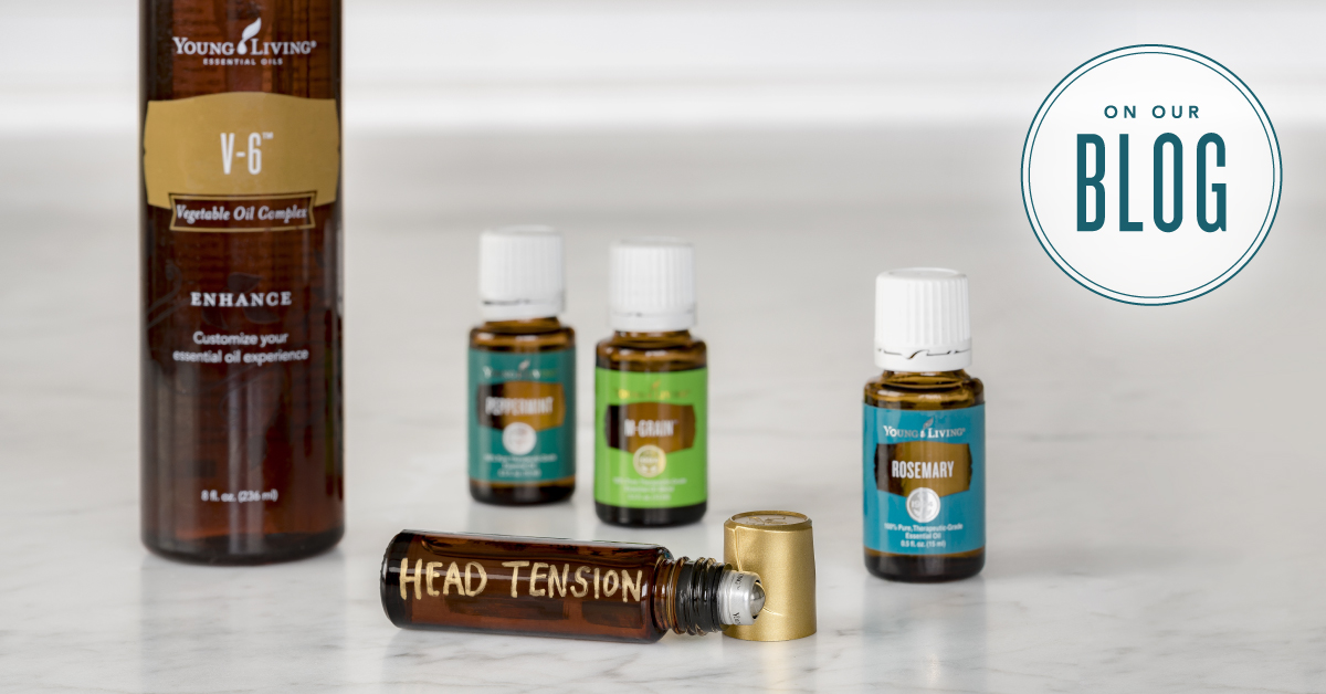 How To Use Peppermint Oil For Head Tension Young Living Blog