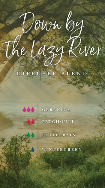 Down by the Lazy River diffuser blend