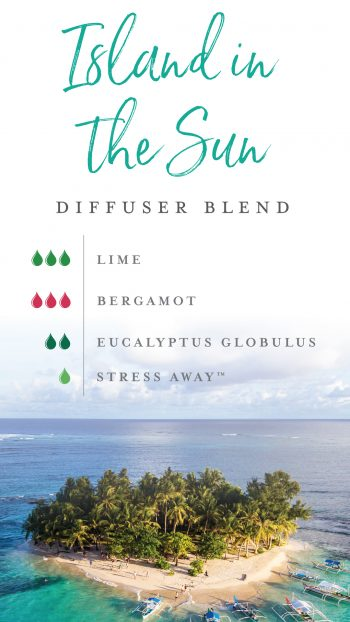 Island in the Sun diffuser blend